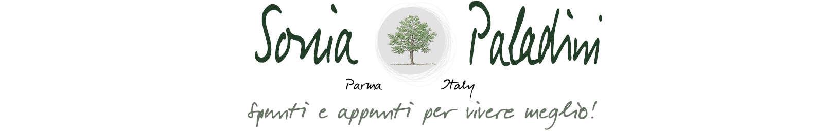 Sonia Paladini spunti e appunti per vivere meglio – Parma lifestyle blog -