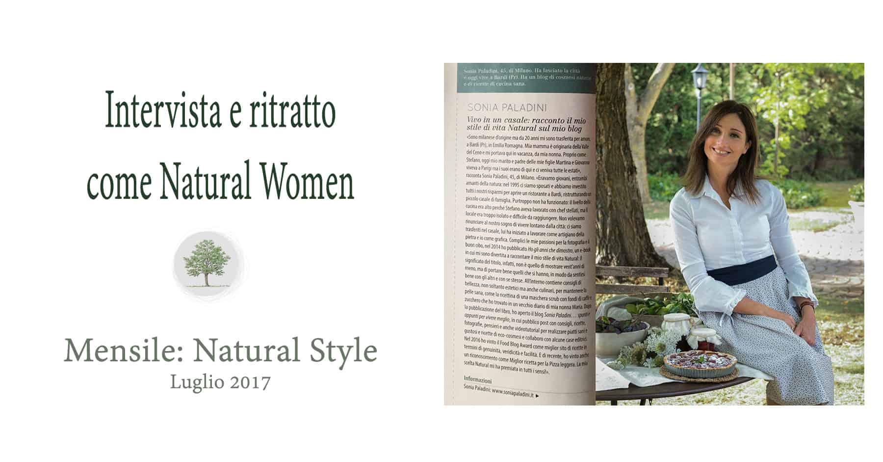 Intervista Sonia Paladini su Natural Style