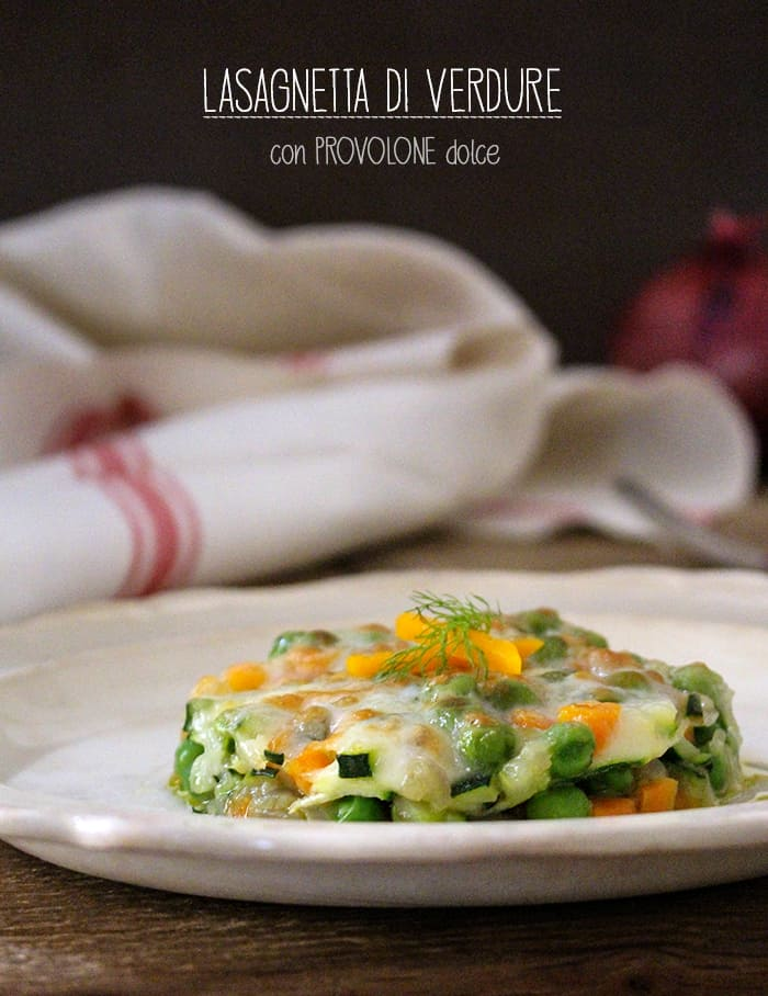 Lasagne con verdura