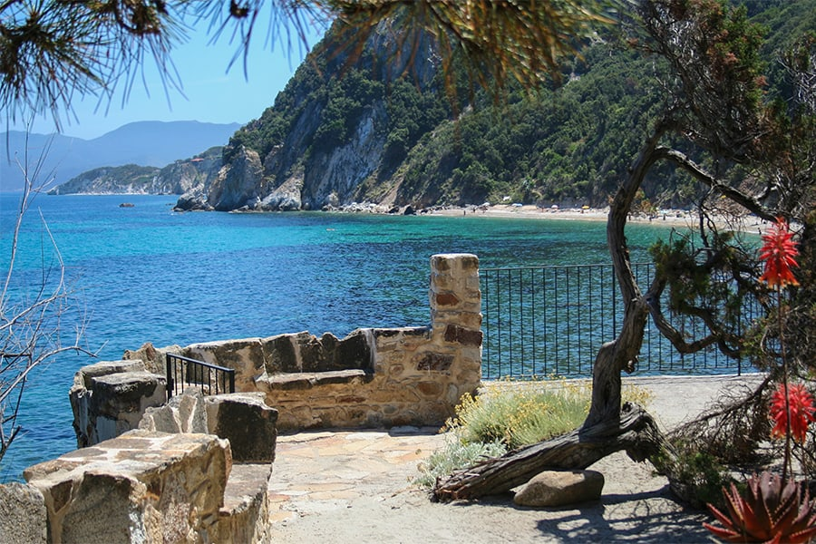 Isola d'Elba terrazza