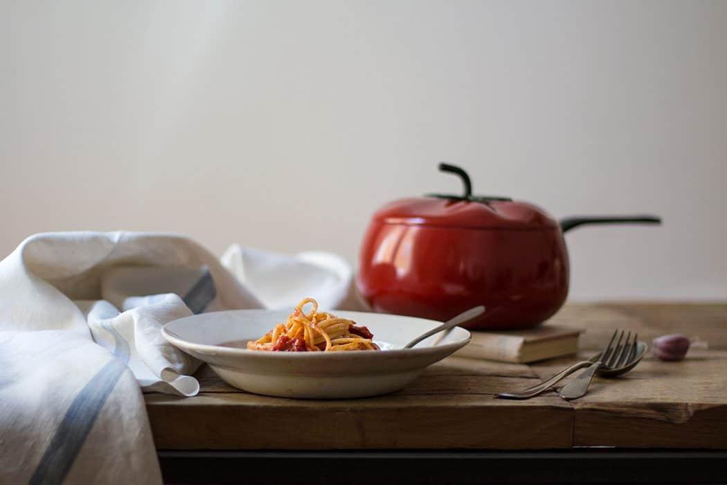 Pasta con Chorizo
