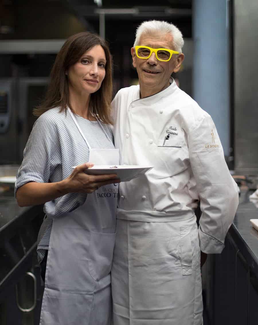 Sonia Paladini e Paolo Teverini