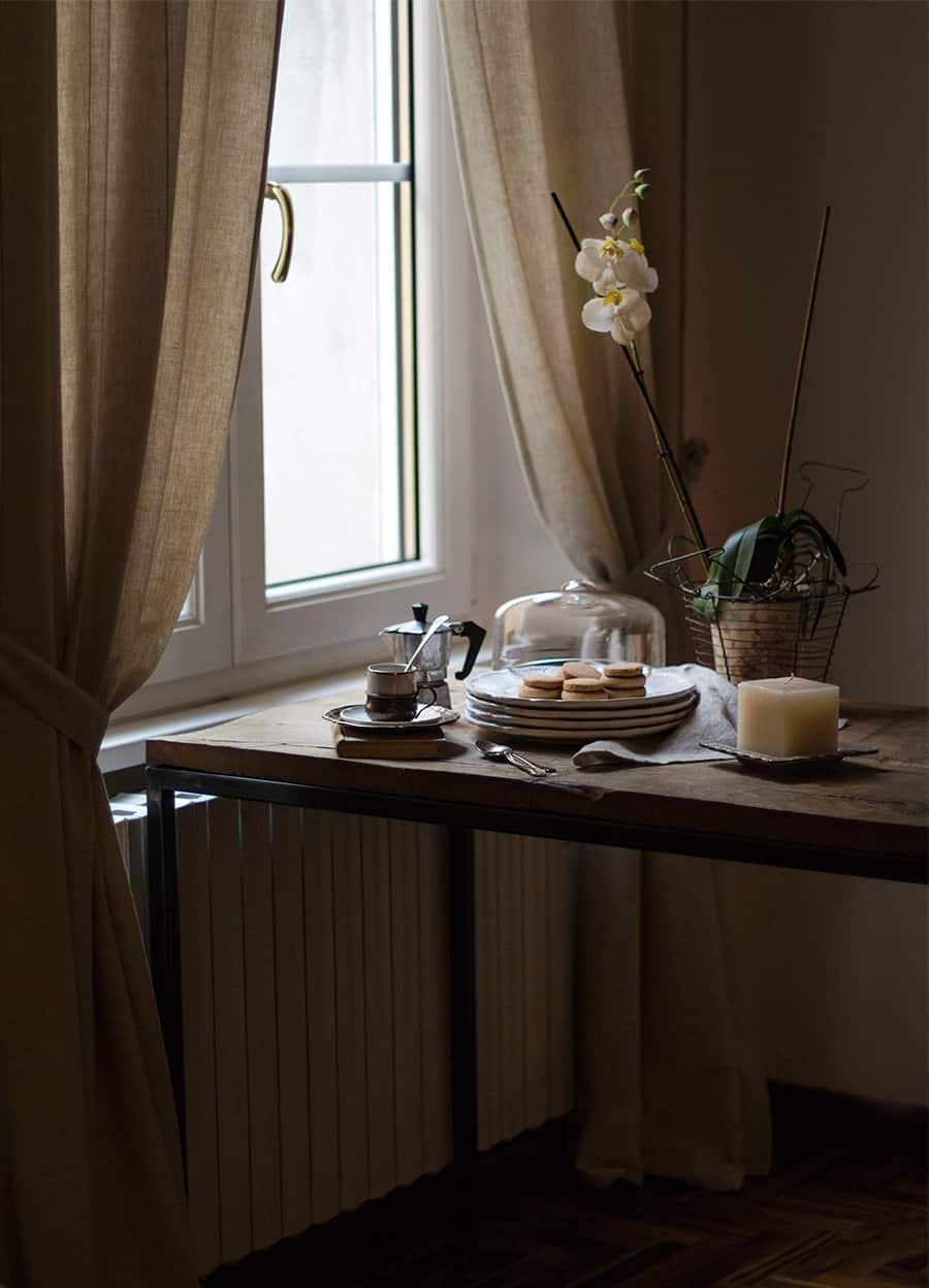 sala da pranzo in stile