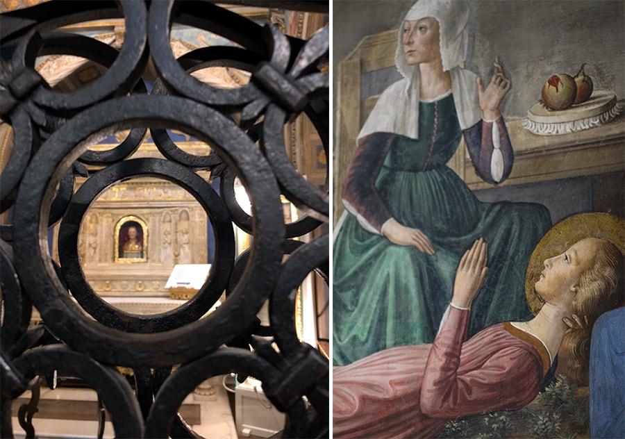 Basilica Collegiata affreschi