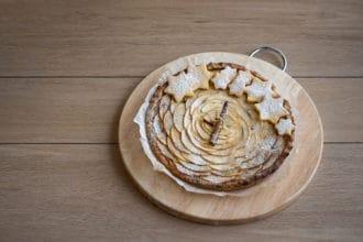 torta con mele e cannella
