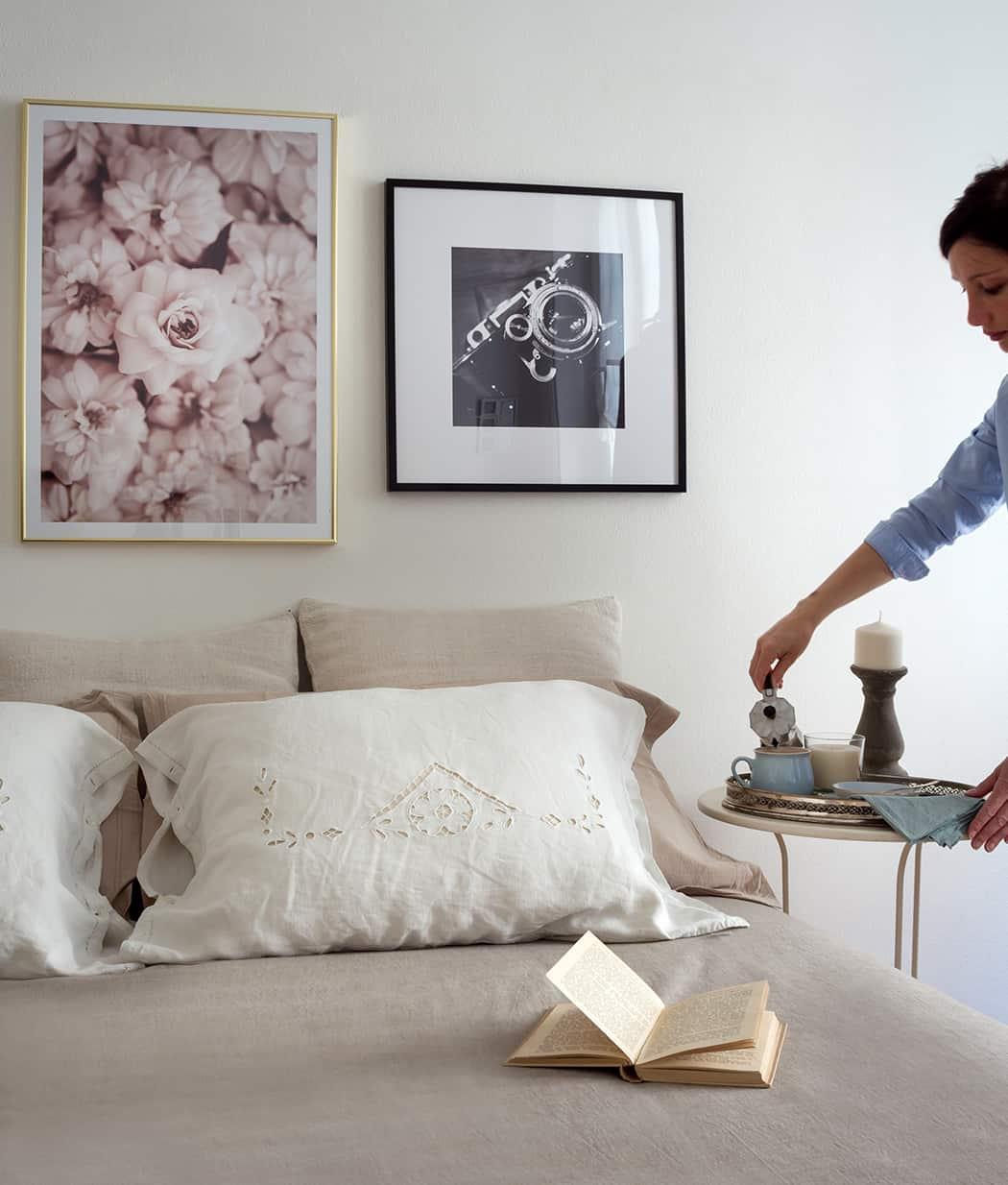 poster e quadri per arredare la stanza da letto