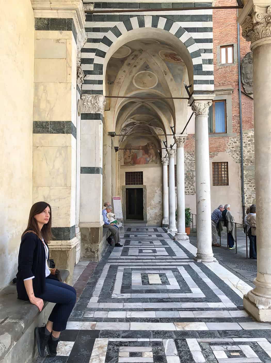 Pistoia Duomo con Sonia Paladini
