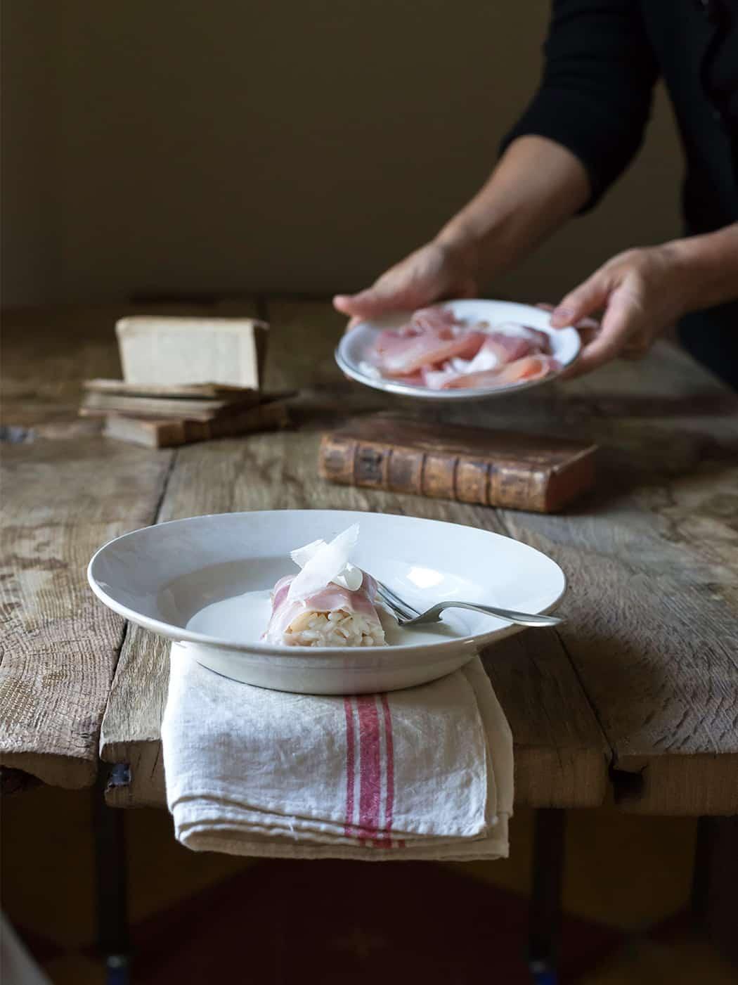 cannellone co gran cotto e parmigiano