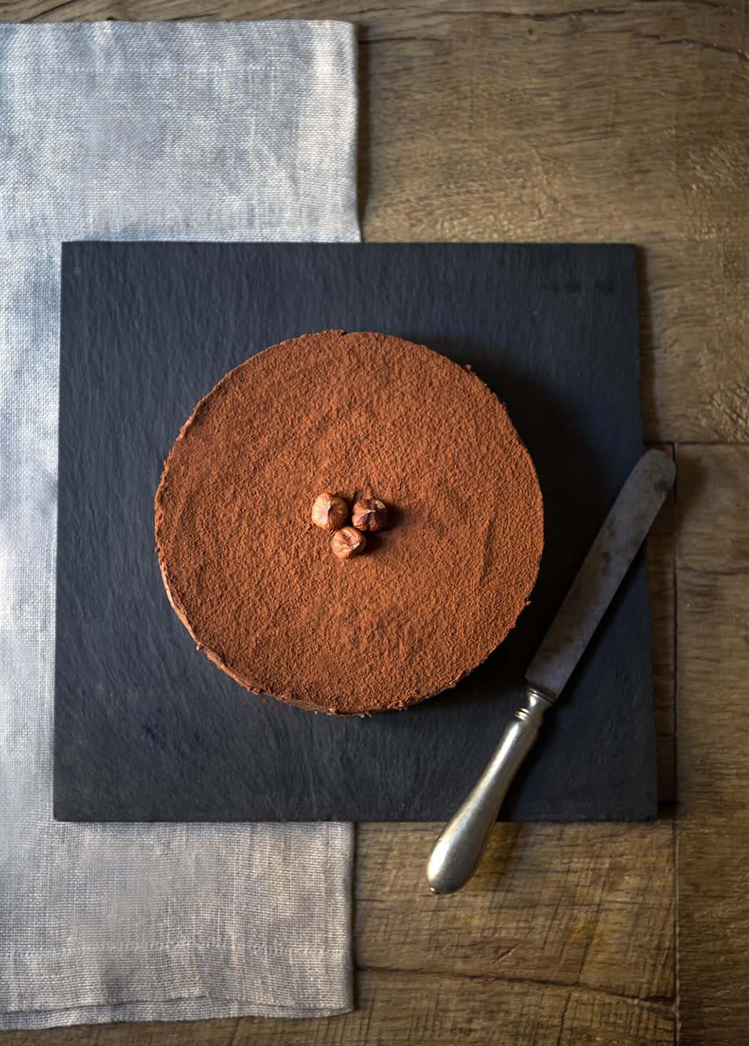 ricetta dessert al cioccolato con nocciole