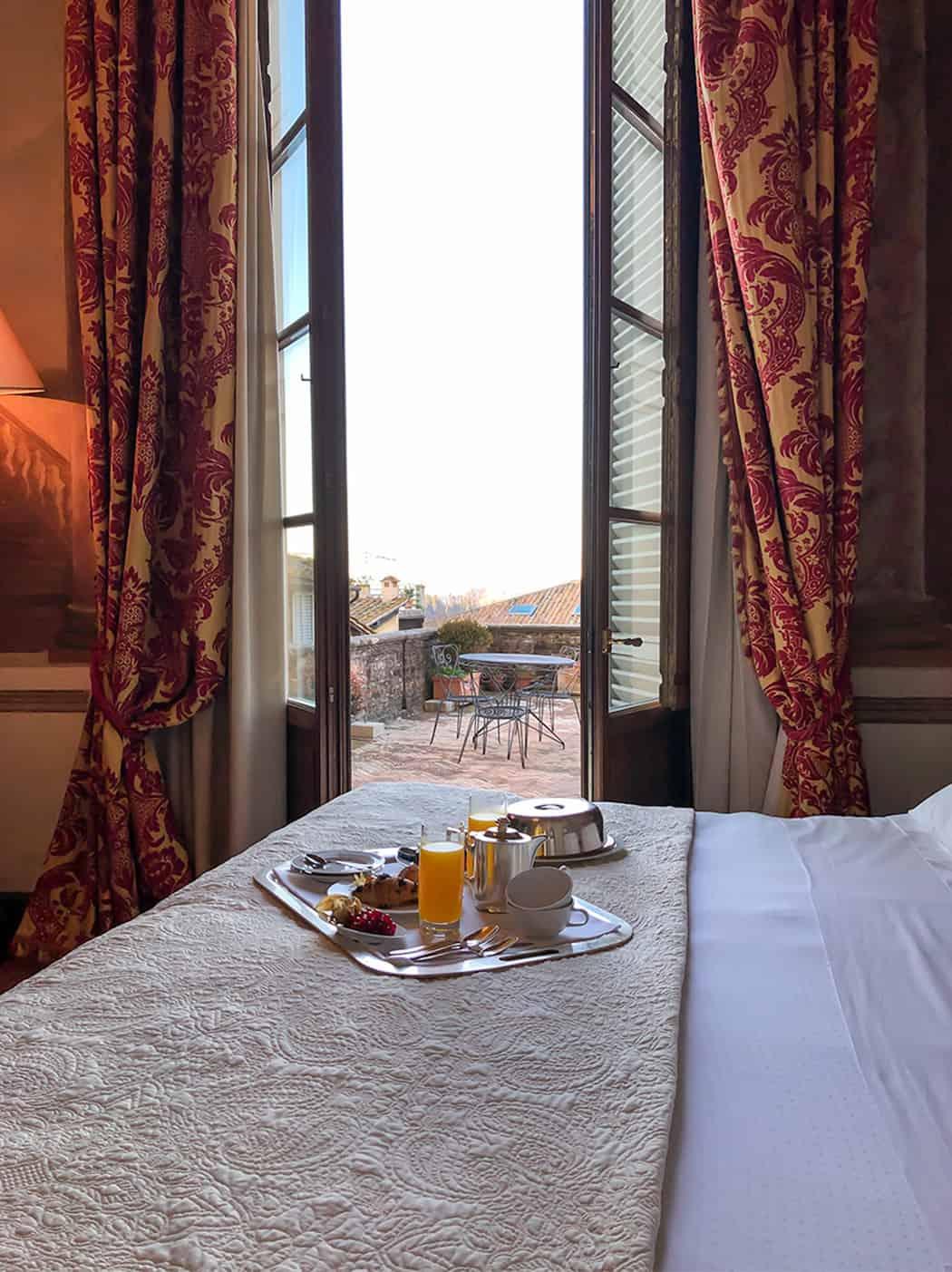 Siena Grand hotel Continental colazione