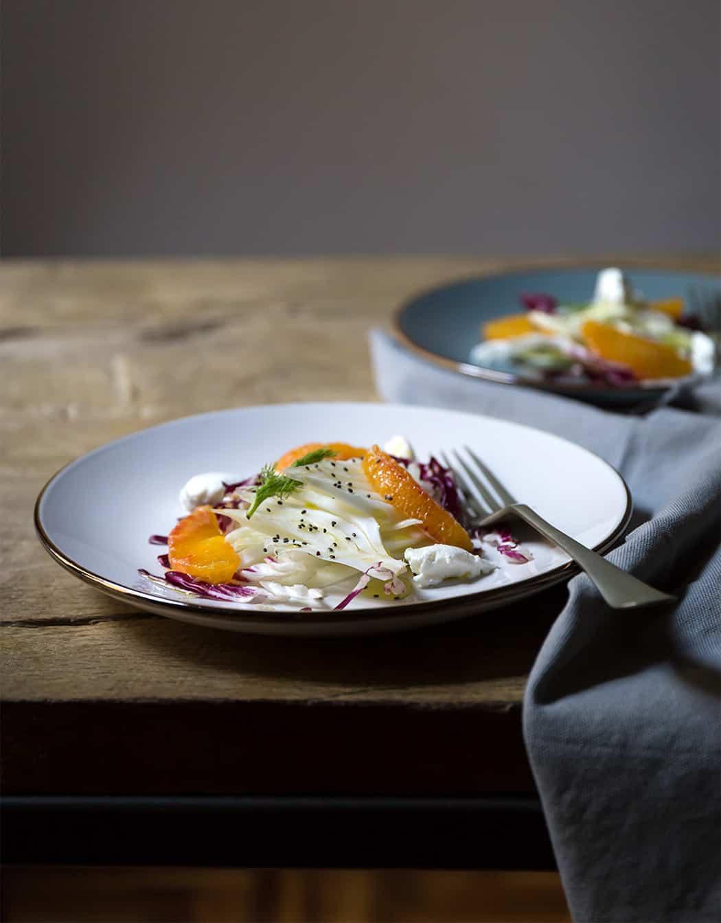 ricette insalate con arancie