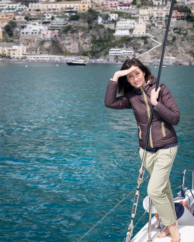 vacanza in barca a vela con Sonia Paladini
