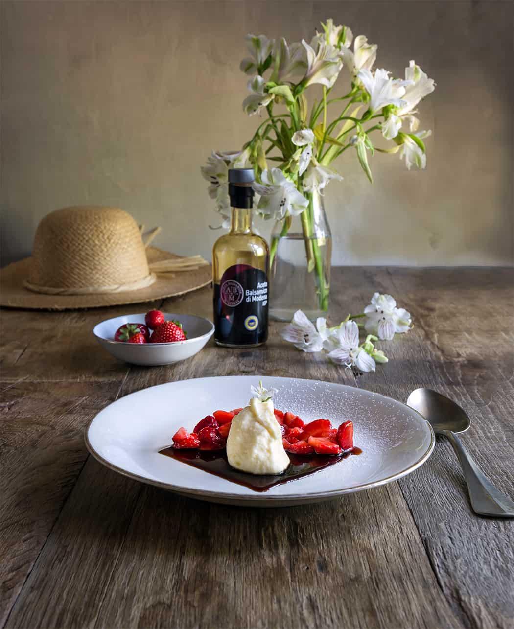 ricetta mascarpone alle fragole con aceto balsamico