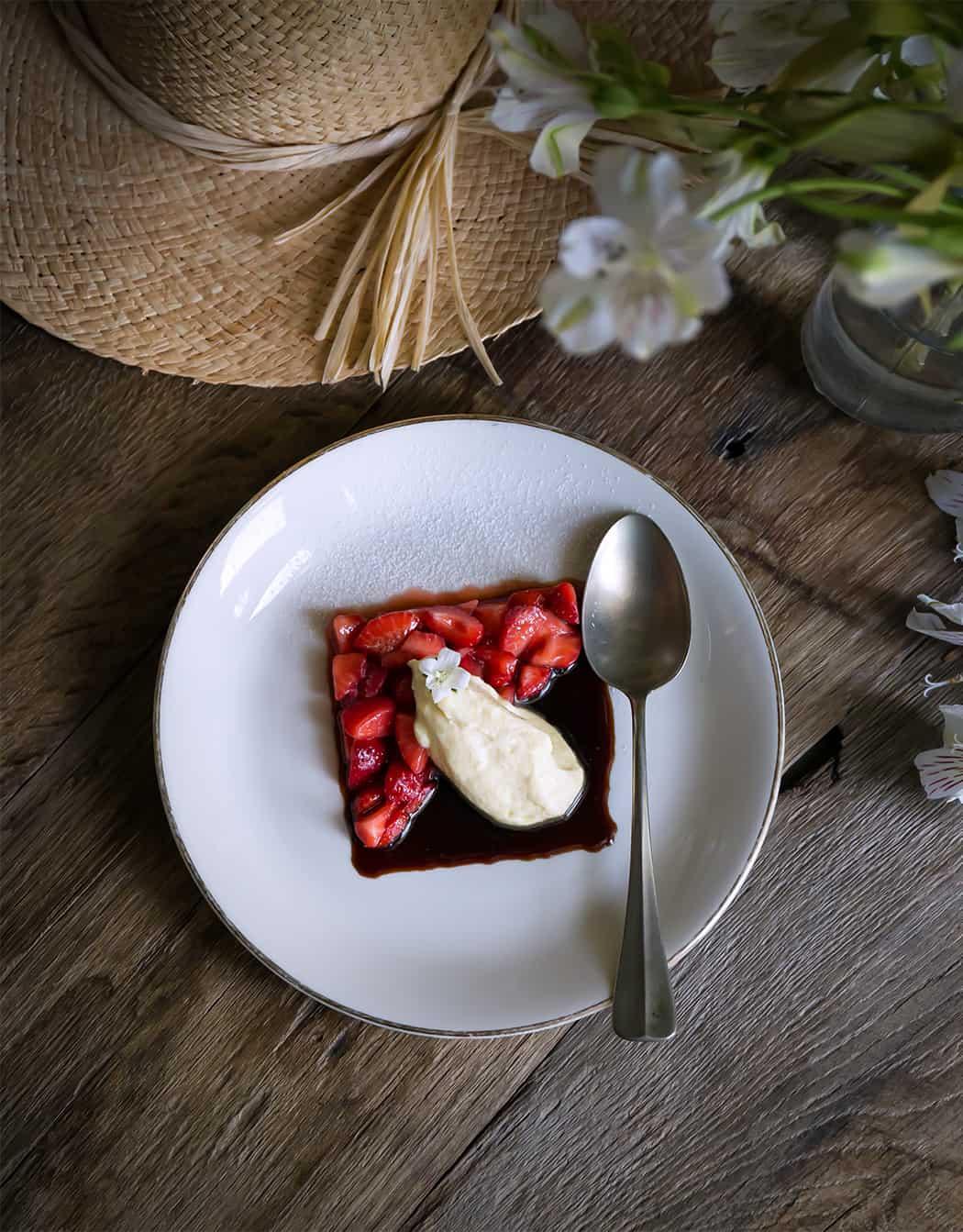 ricetta fragole e mascarpone