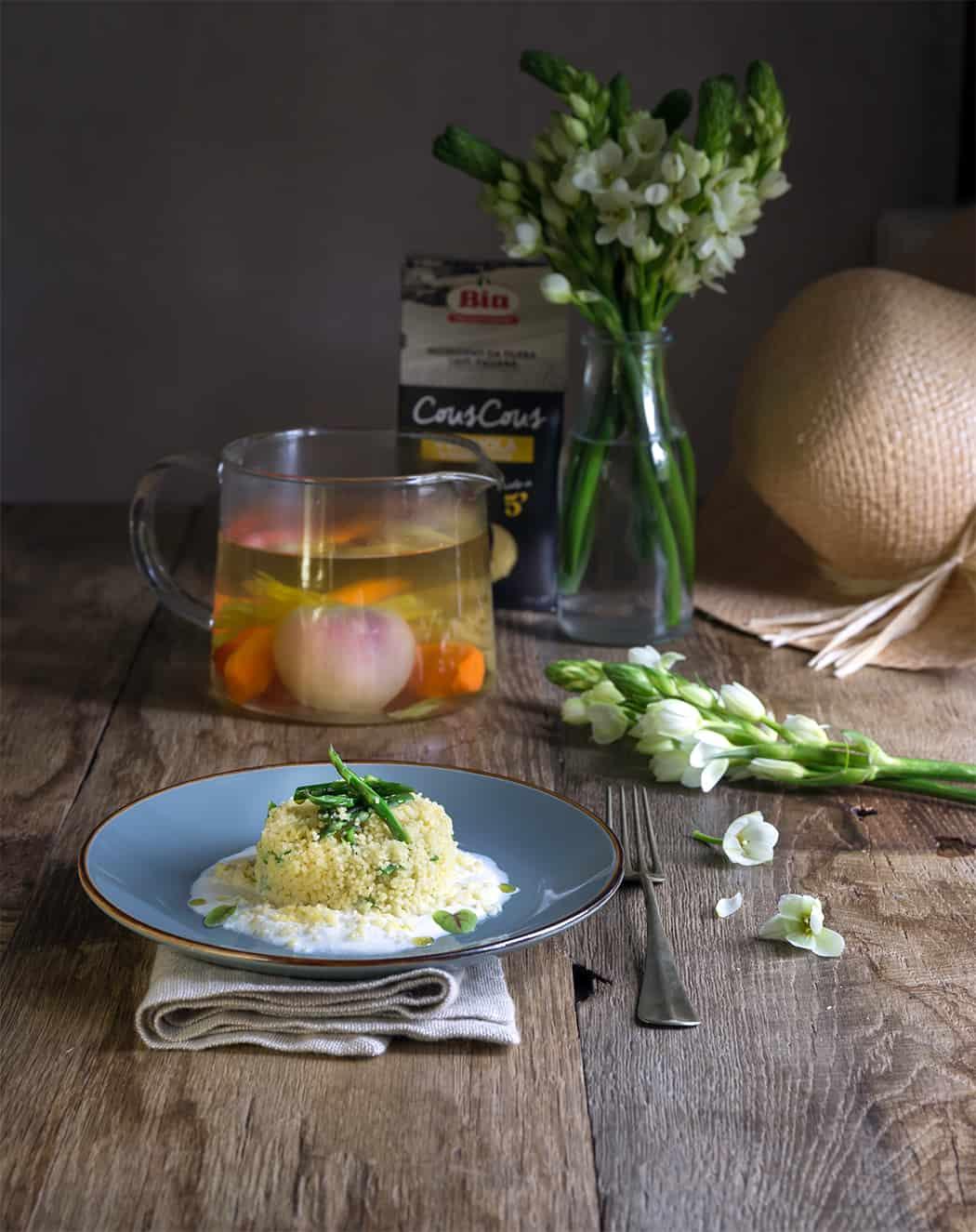 ricette cous cous con verdure