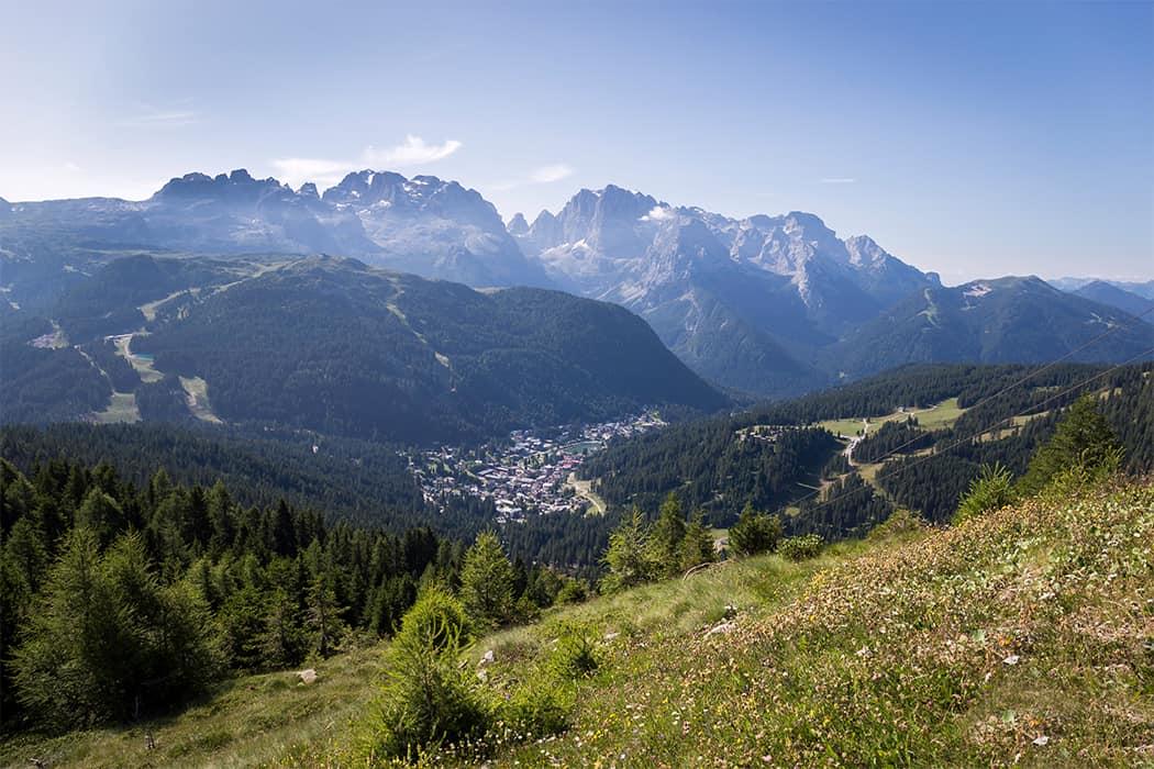 Madonna di Campiglio e le Dolomiti di Brenta