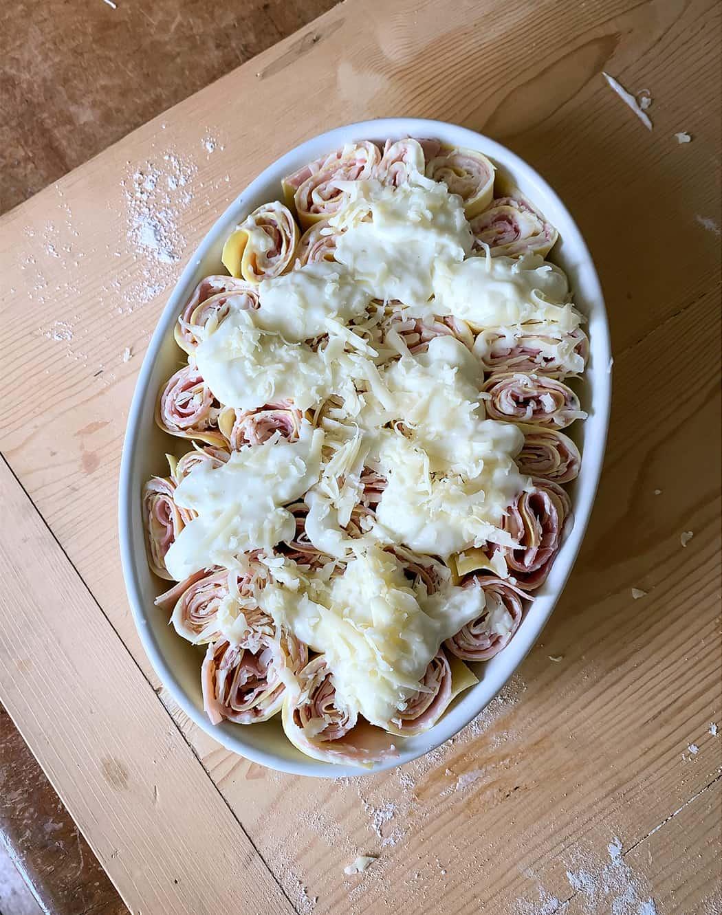 ricetta nidi di rondine con emmental di Sonia Paladini