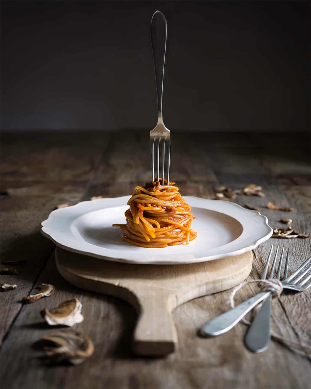 ricette con spaghetti ai funghi freschi