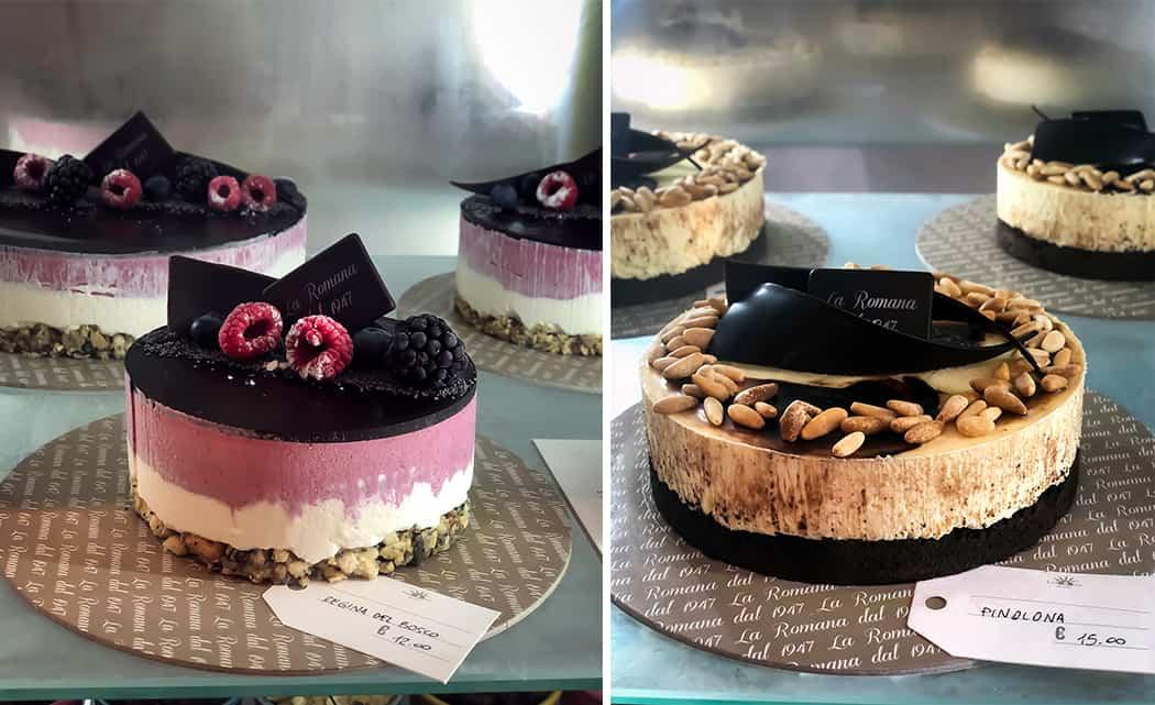 torta gelato regina del bosco