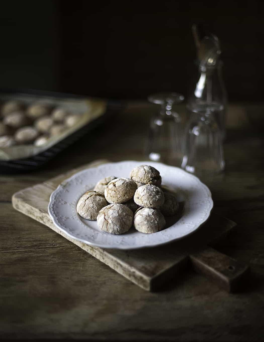 ricetta Crinkle cookies arancia cioccolato