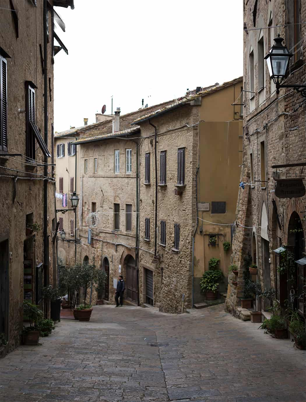 Volterra il centro storico