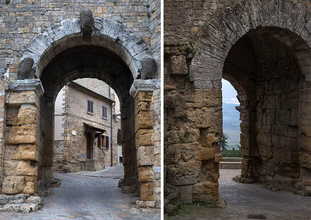 le mura di Volterra
