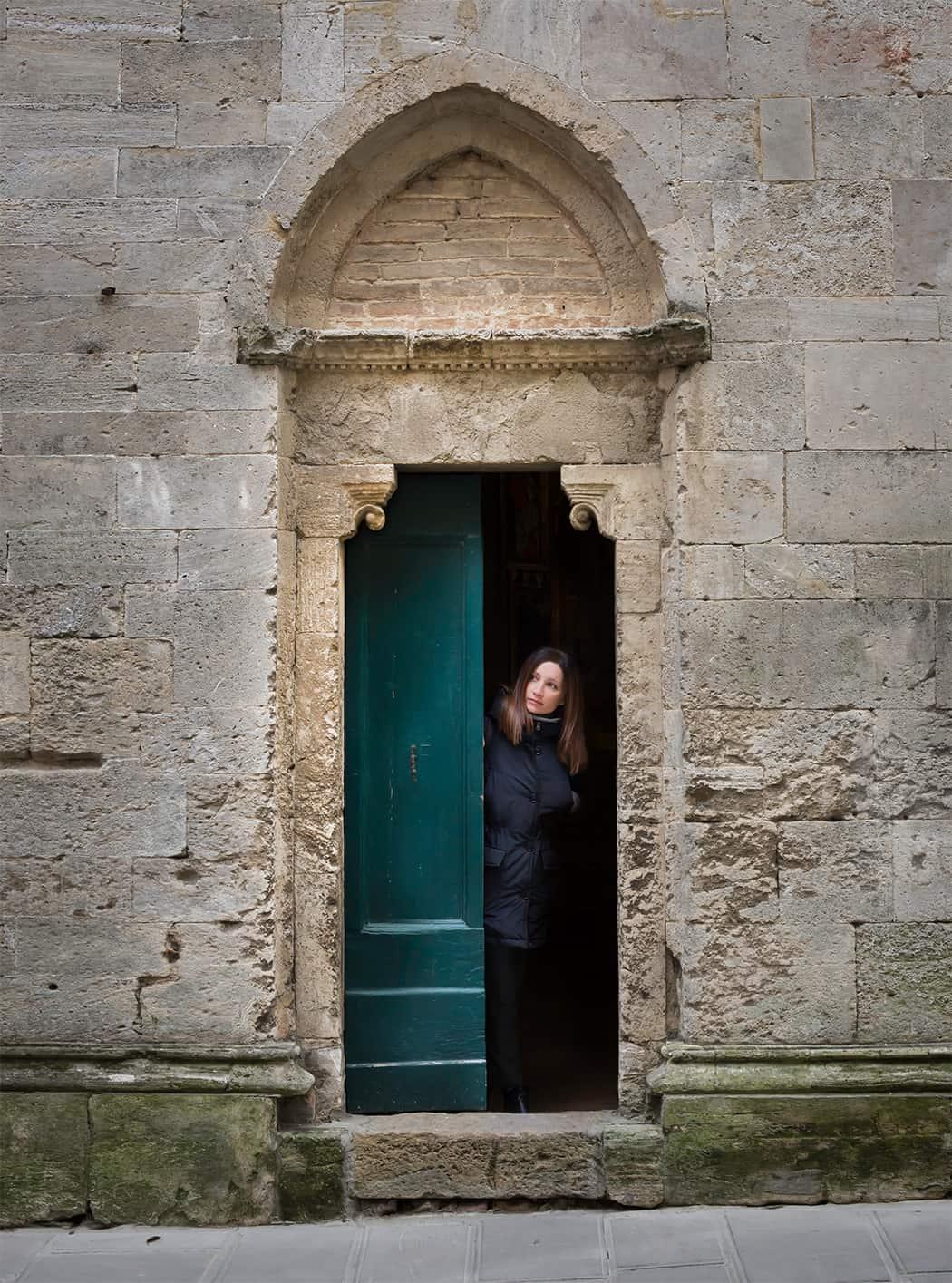 i palazzi di Volterra