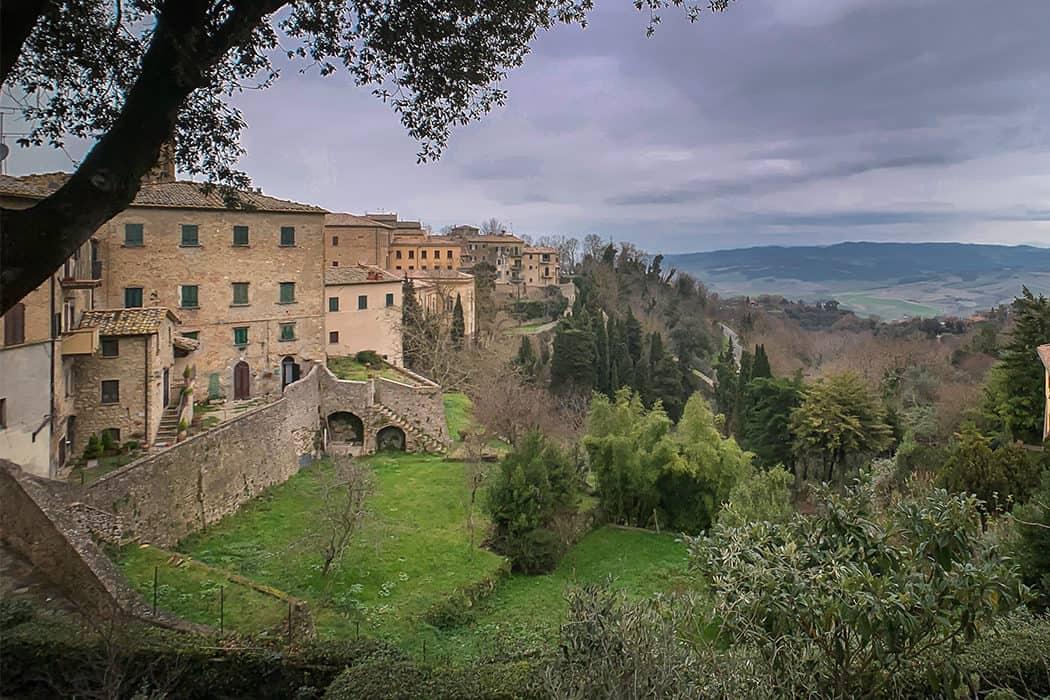il paesaggio di Volterra