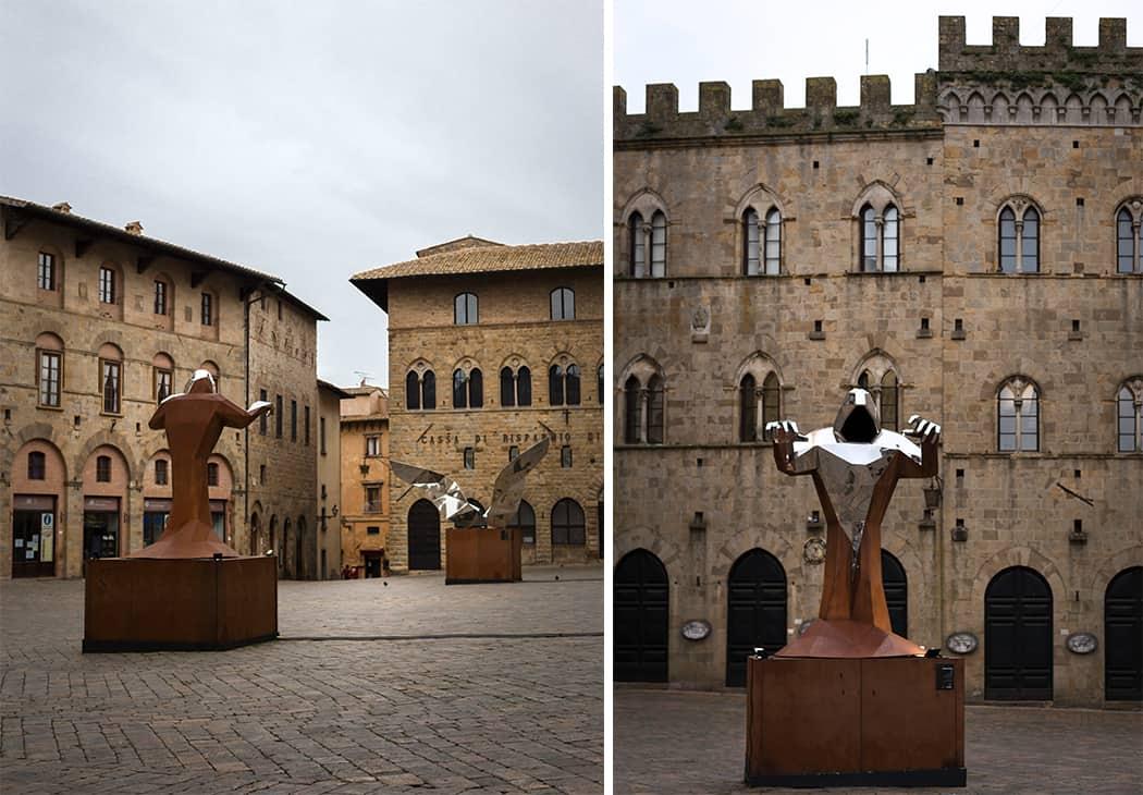 piazza dei Priori Volterra