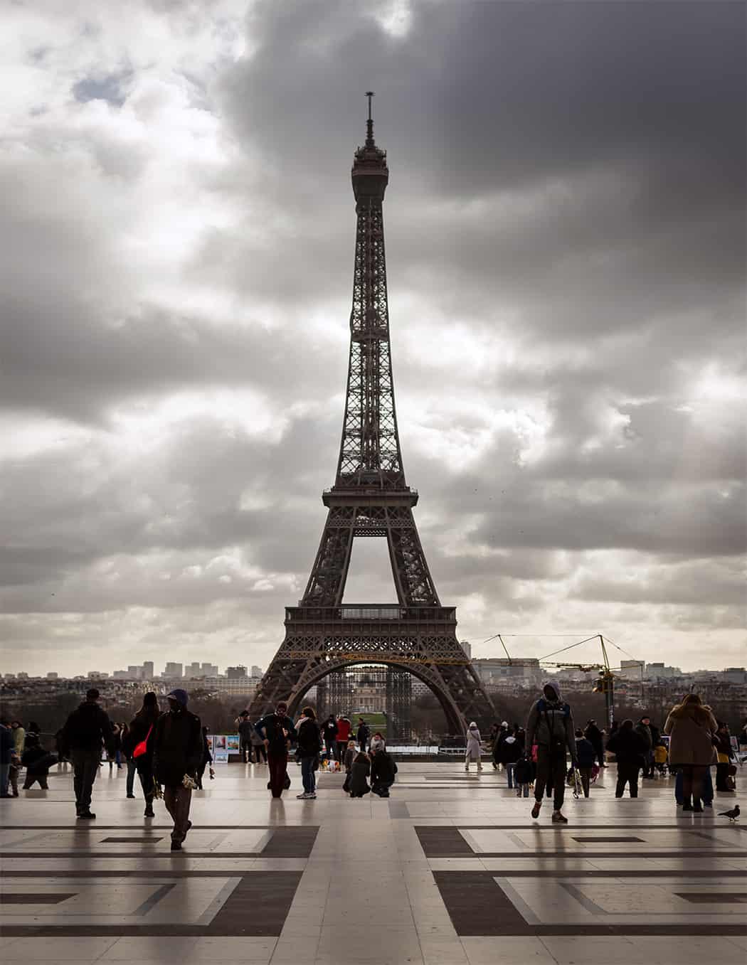 Parigi la Tour Eiffel