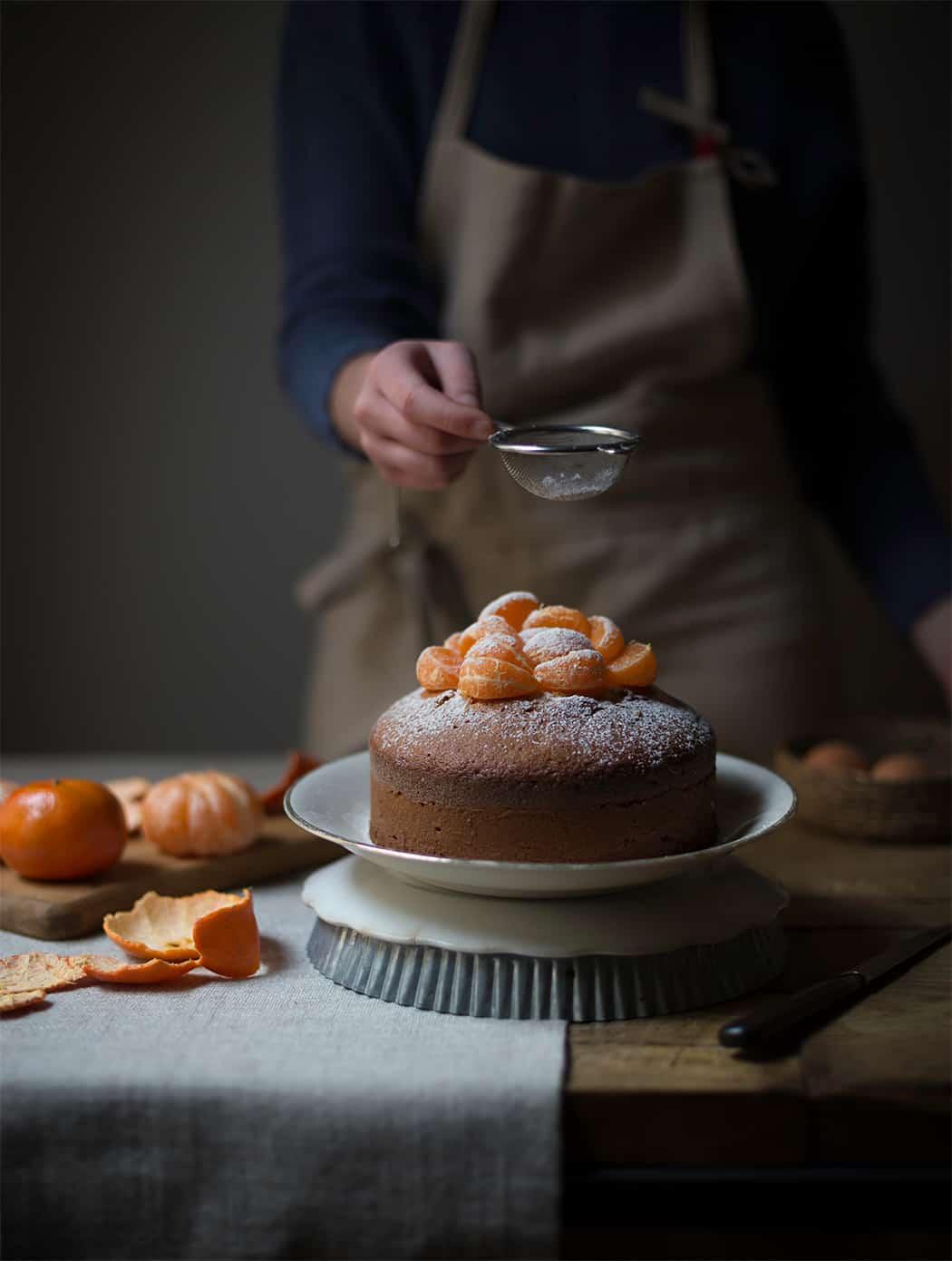 ricetta torta soffice al mandarino
