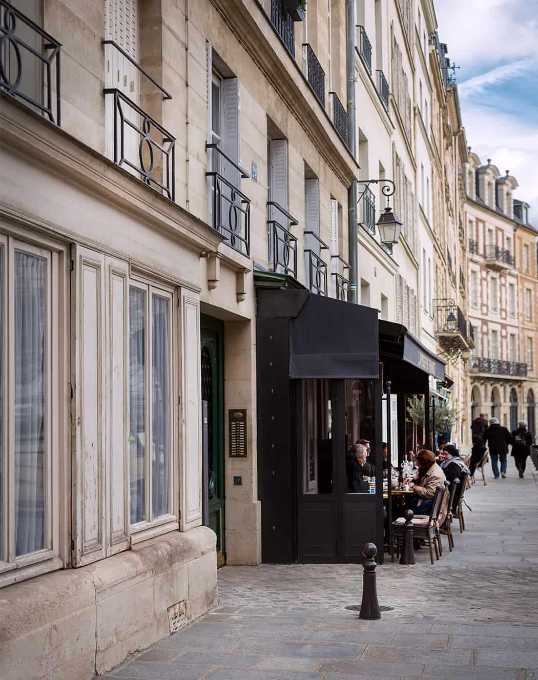 Parigi Place Dauphine i locali