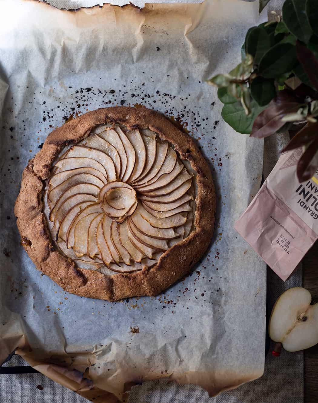 ricetta torta rustica alle pere