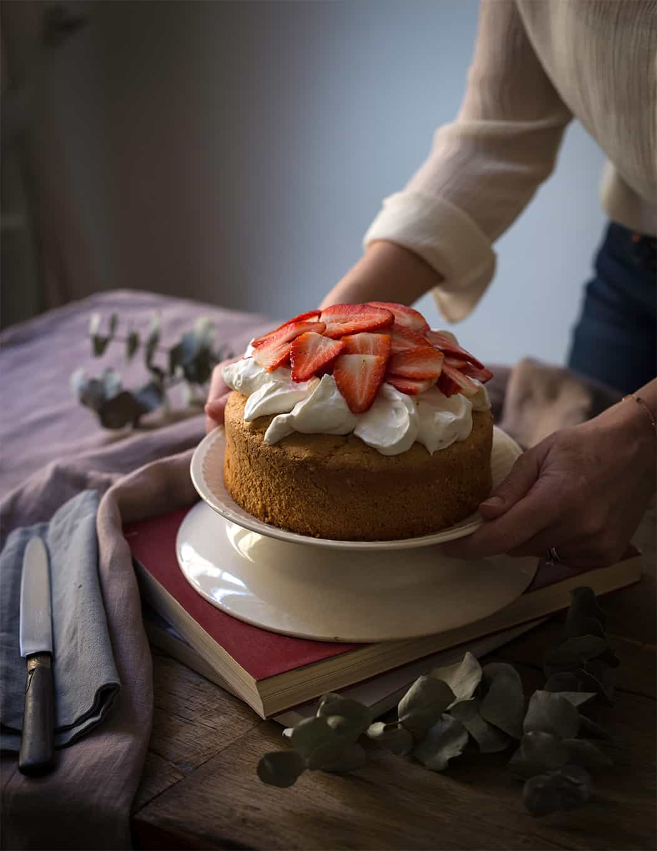 ricetta torta soffice alle fragole