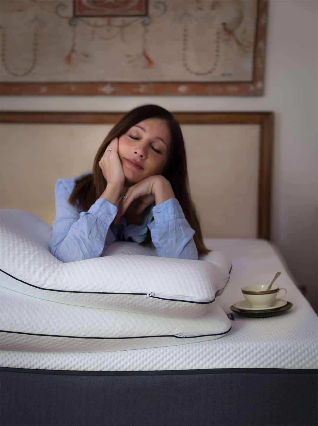 dormire bene con il materasso Emma
