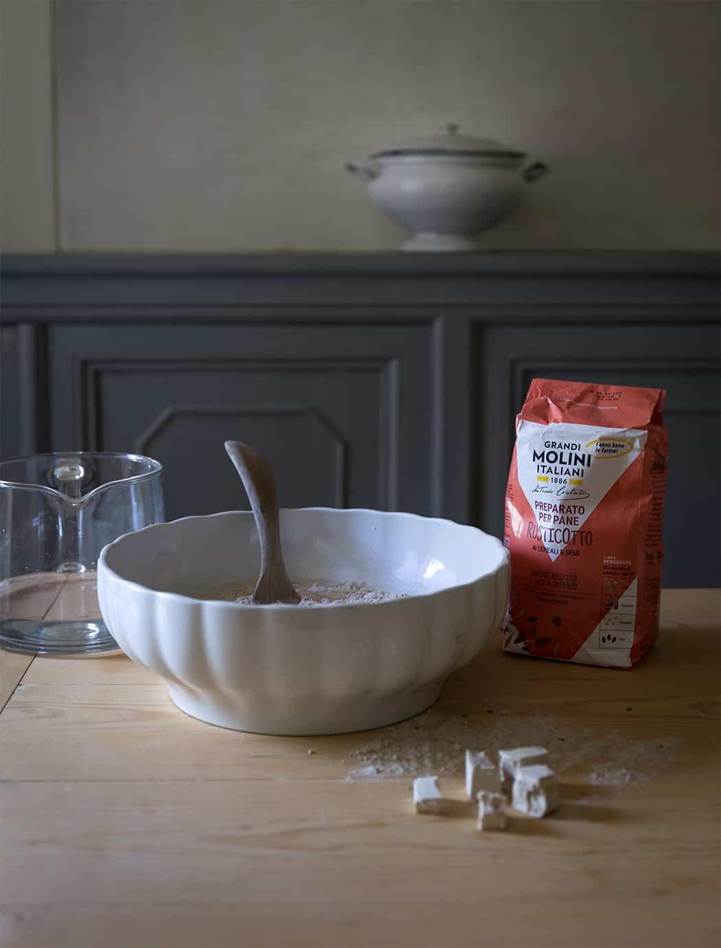 Baguette ai cereali e semi