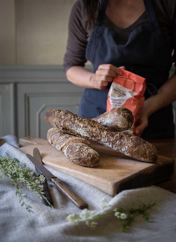ricetta baguette di Sonia Paladini