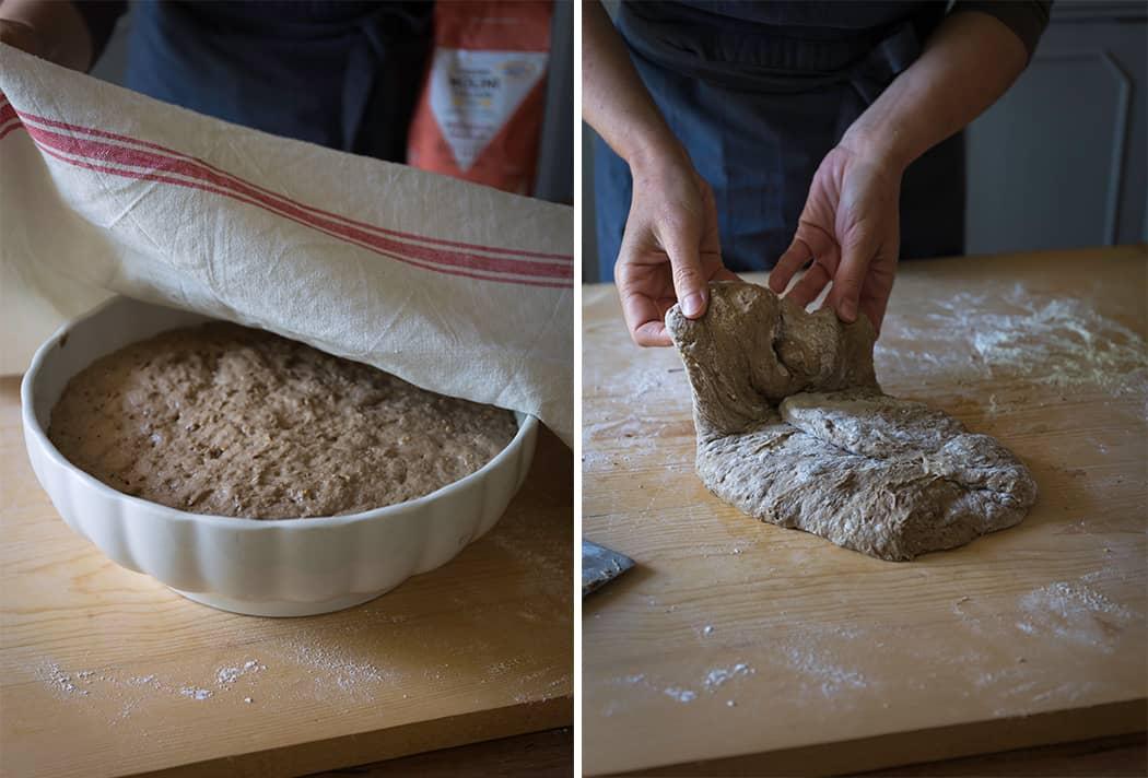 Baguette ai cereali e semi semplice e veloce