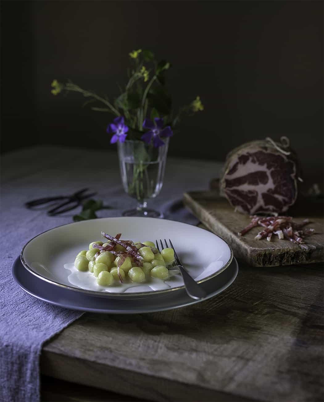 ricetta gnocchi con crema al gorgonzola