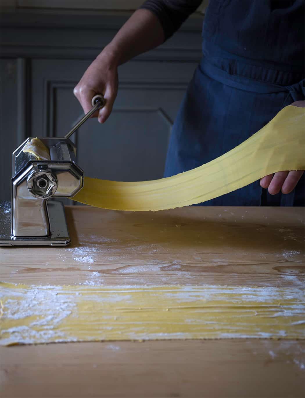 ricetta pasta all'uovo
