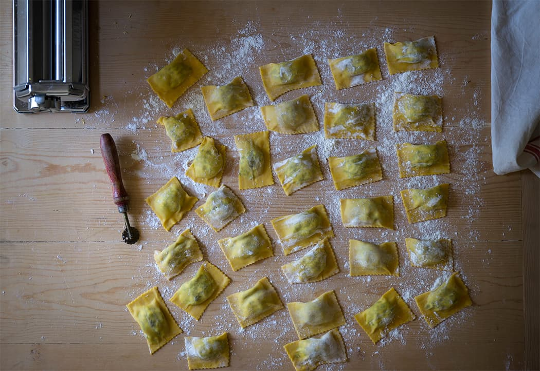 ricette tortelli di erbette ricotta