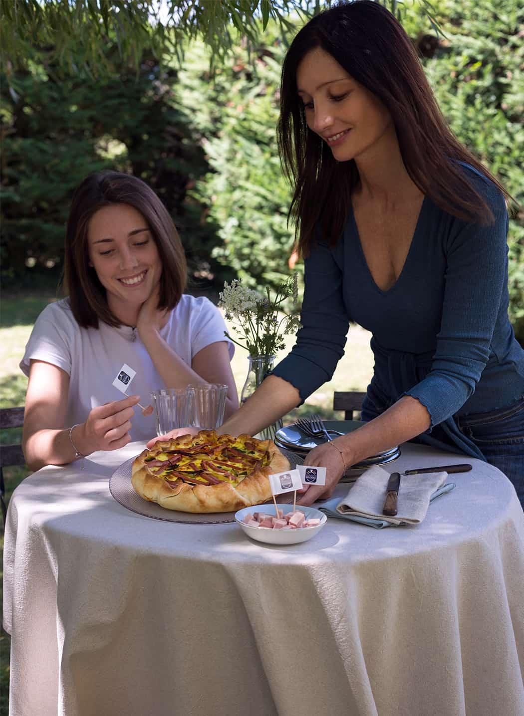 ricetta torta rustica con mortadella