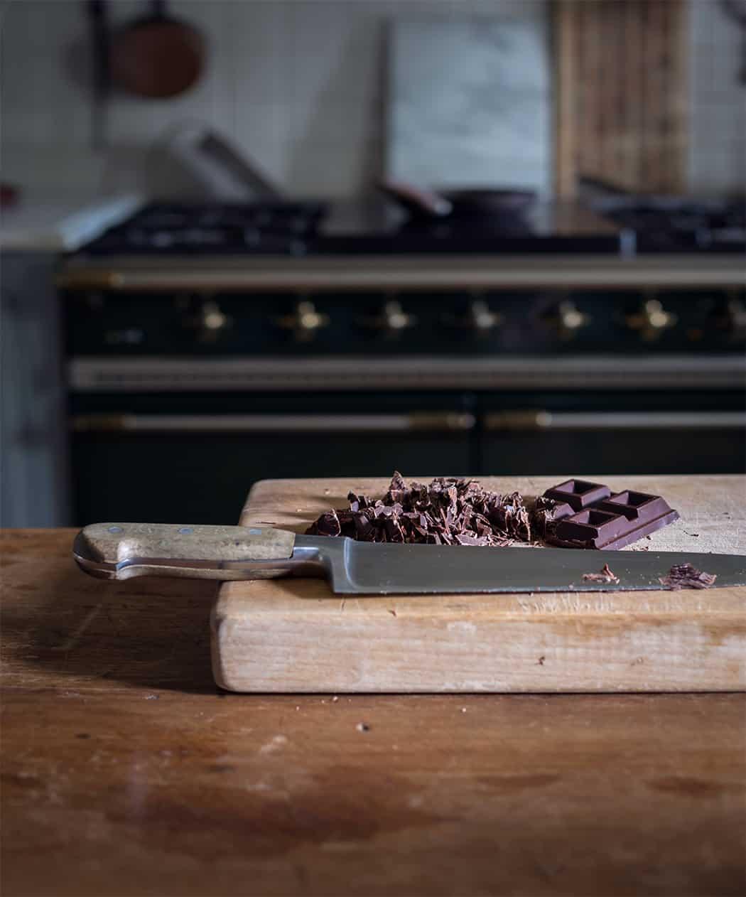 crema al cioccolato e nocciole