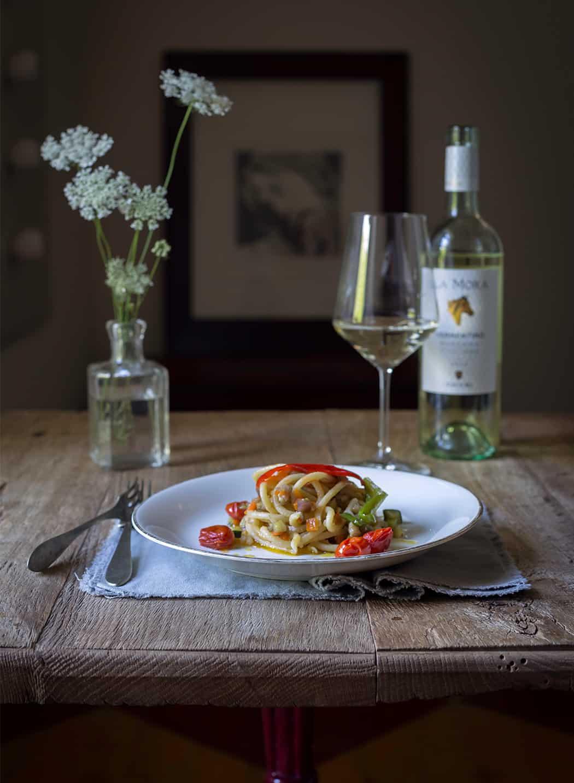 ricetta pasta con ragù di verdure