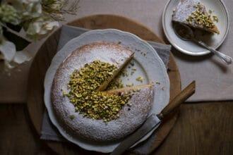 ricette torta soffice al pistacchio