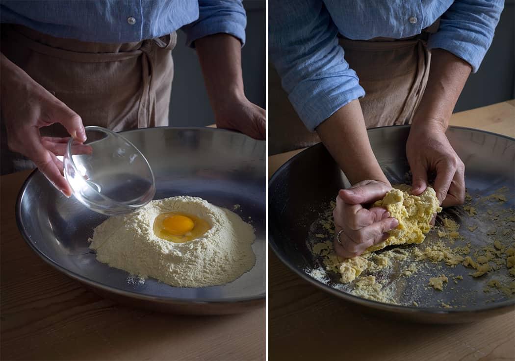 impasto per pasta all'uovo fresca