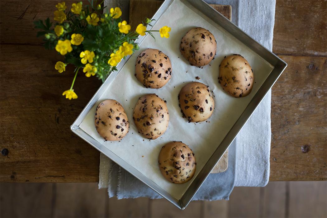 ricetta cookies con gocce di cioccolato senza