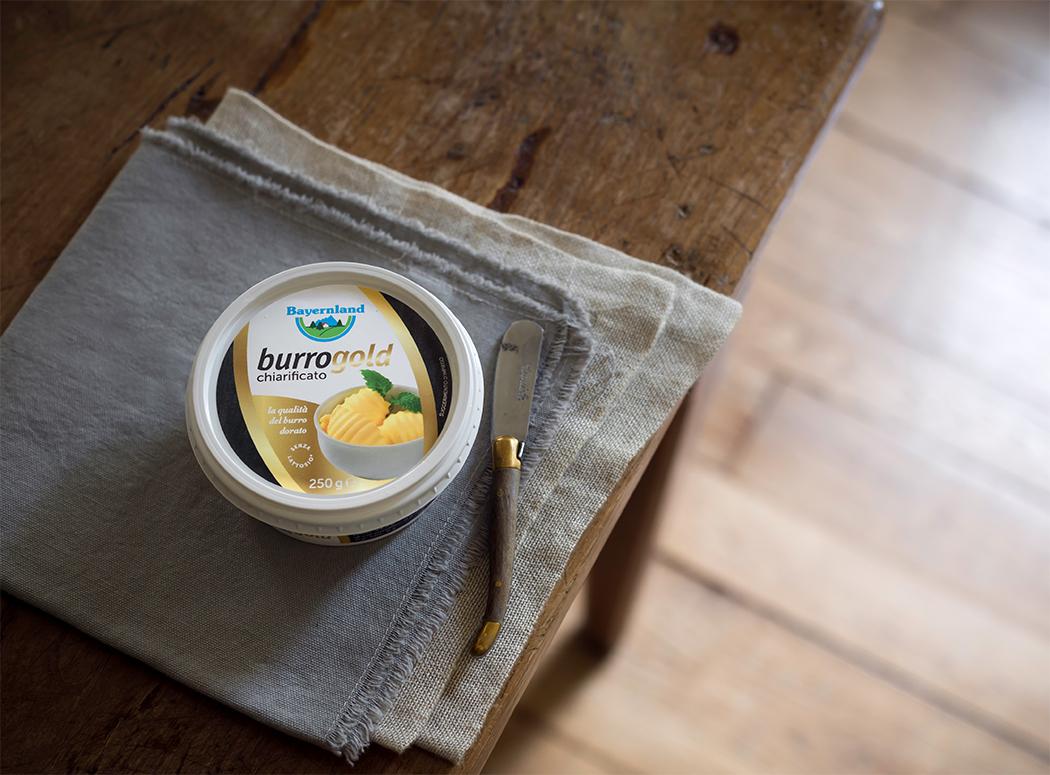 burro gold chiarificato Bayernland