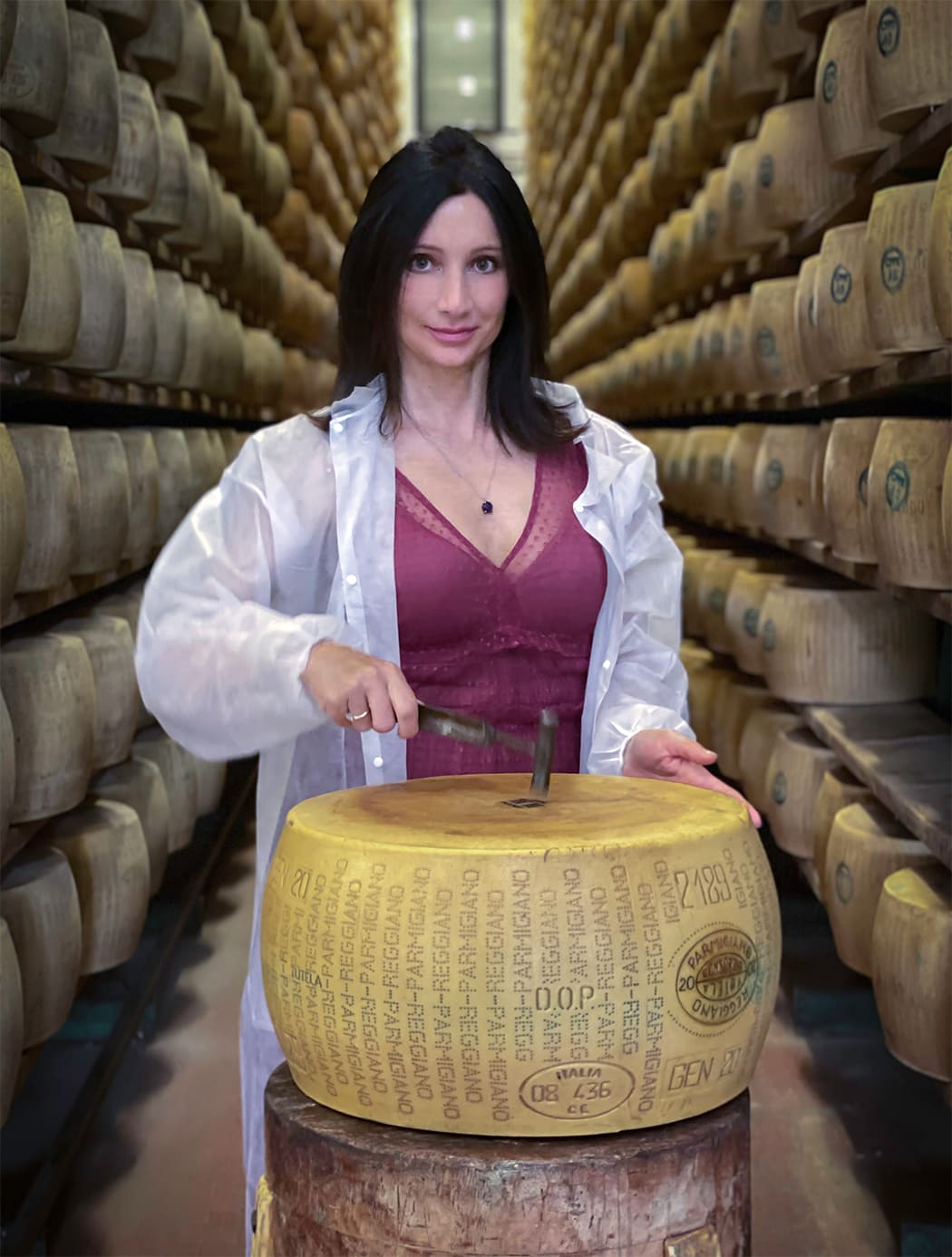 visita e degusta il Parmigiano Reggiano