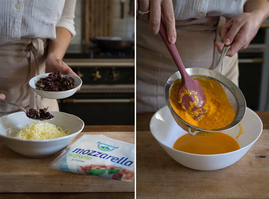 ricetta con pasta fillo e mozzarella